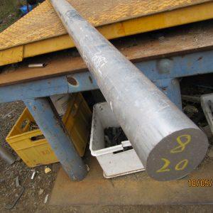Alumiinipyörötanko 8, 70 mm