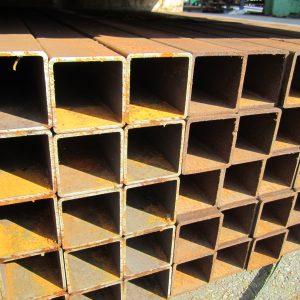 80x80x4 RHS-neliöputki 2L 5,95 m pit